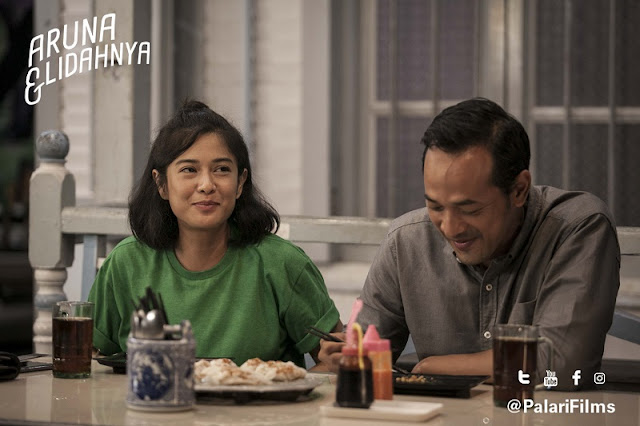 Review Film Aruna dan Lidahnya (2). Source: https://id.bookmyshow.com/