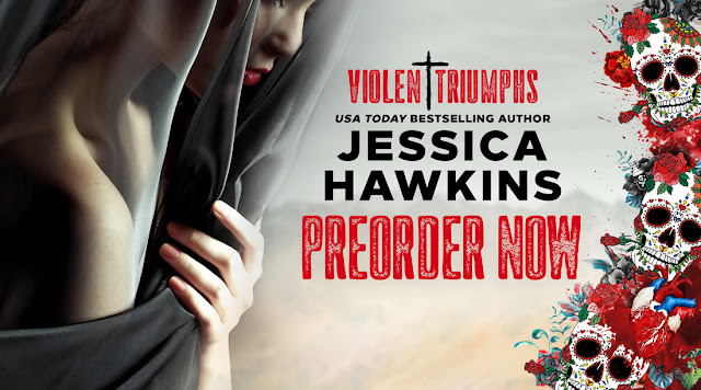violent triumphs by jessica hawkins cover reveal