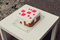 Minecraft taart beschrijving