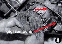Cara Memperbaiki Kopling Motor Selip