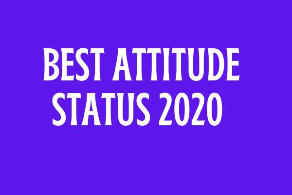 Best Attitude Status In Hindi