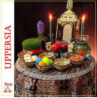 Wishing a Happy Persian New Year with hope that all Persian- speaking people in the world will have many blessings in the year to come. We wish all the negativity and difficulties also end and this year bring success and health for us.