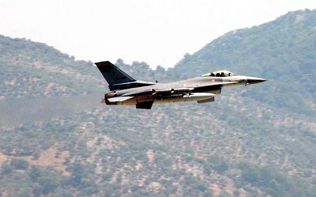 Αεροπορική επίθεση της Τουρκίας στο Ιράκ