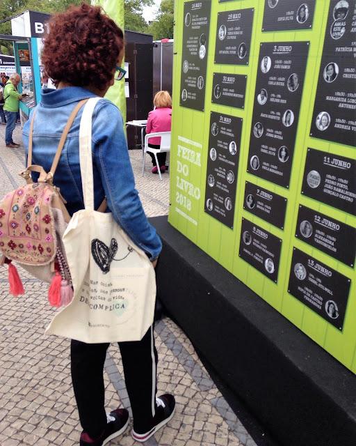 Feira do Livro Lisboa 2018 miúda sacola programa