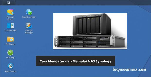 Cara Mengatur dan Memulai NAS Synology