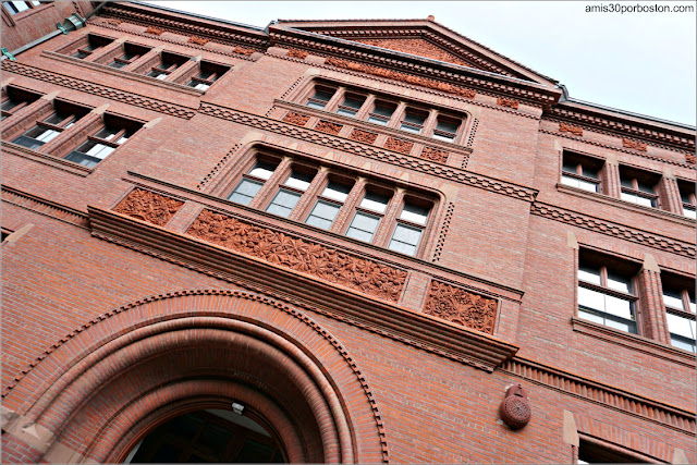 Sever Hall en la Universidad de Harvard