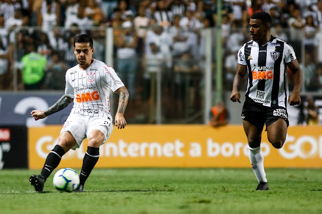 Corinthians perdeu para o Galo Foto: Rodrigo Gazzanel/Agência Corinthians