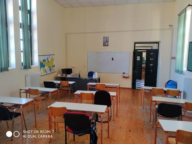Εργασίες ανακαίνισης στο Δημοτικό Σχολείο Νέας Επιδαύρου