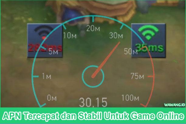 APN Tercepat dan Stabil Untuk Game Online Support All Operator