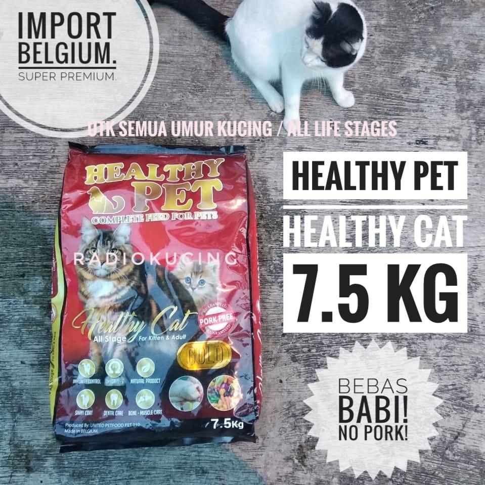 Review Makanan Kucing Healthy Pet Cat Super Premium Import Belgium Radiokucing Com