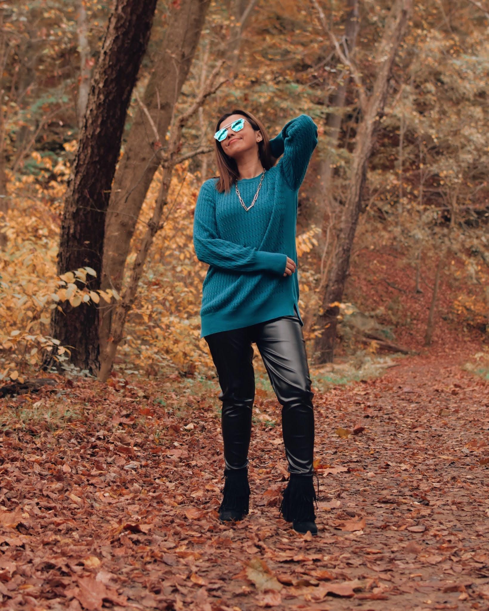 Ocomo crear outfits desde cero-faux leather pants-otoño 2020-mariestilo