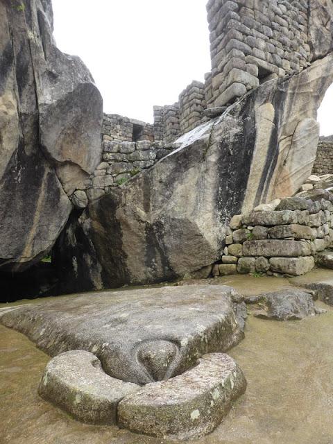 Machupicchu, templo del cóndor