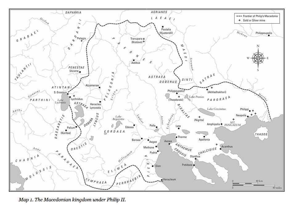 Makedonisches Reich unter Philip II