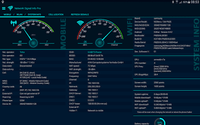 تطبيق Network Signal Info Pro للأندرويد, تطبيق Network Signal Info Pro مدفوع للأندرويد,Network Signal Info Pro apk