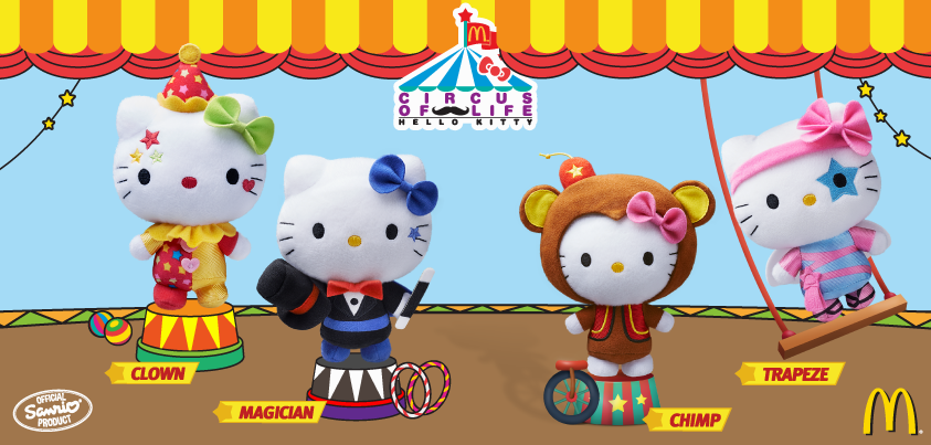 McDonald's Hello Kitty Circus