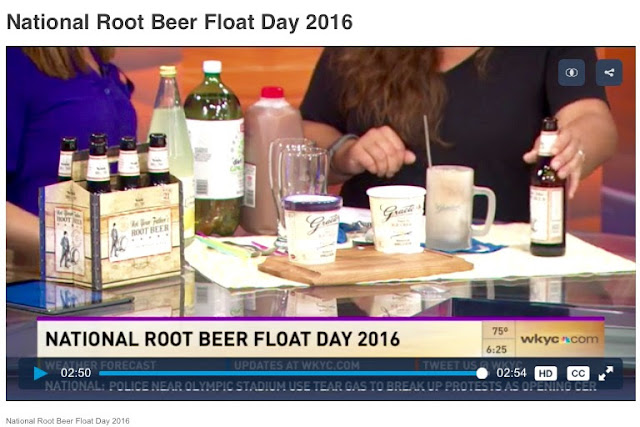 That Time I Made a Root Beer Float on TV