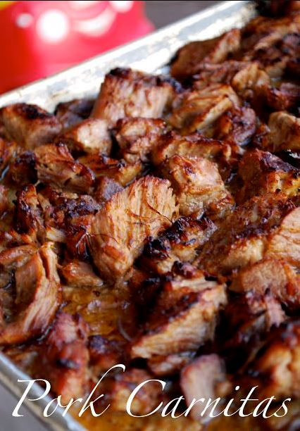 Authentic Pork Carnitas - Mexican Slow Cooked Pulled Pork