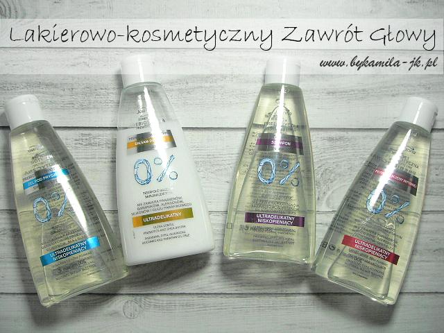 Joanna seria prebiotyczna żel pod prysznic balsam szampon żel do higieny intymnej prebiotyki
