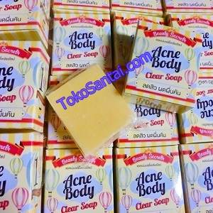 Acne Body Clear Soap Asli