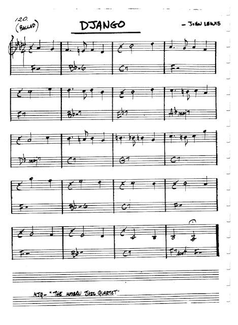 Partitura Violín John Lewis