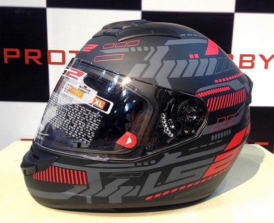 Chỉ cần mũ LS2 FF352 bảo hiểm vừa tốt vừa rẻ