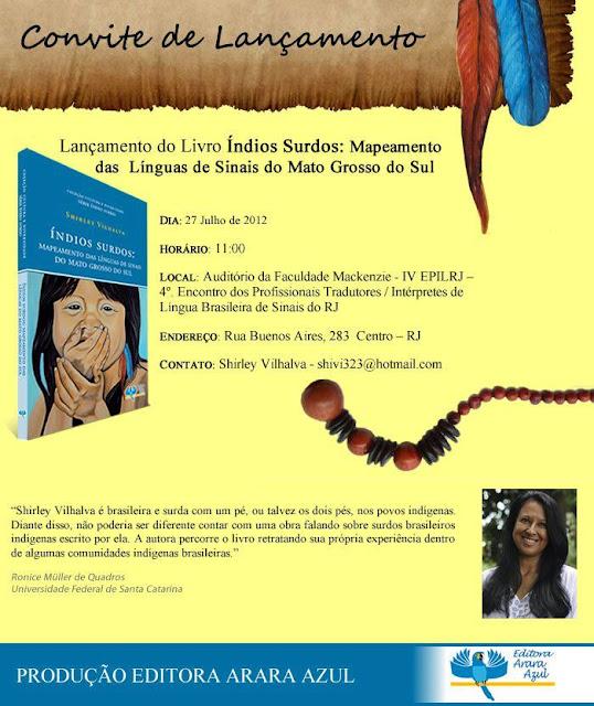 Livro lançamento 2012