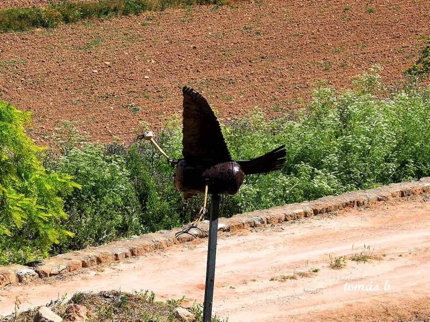 FOTOGRAFIAS: Arte en el Reciclaje; Monte Agudo de las Vicarías, Soria.