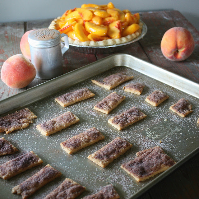 Pie Crusteez and Fresh Peach Pie
