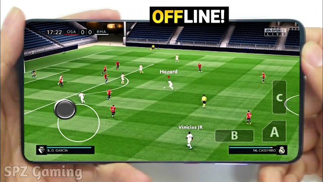 Download Best Football Game 2021 Android Offline 300MB Best Graphics