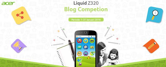 Dengan Acer Liquid Z320, Anak Senang, Orang Tua Tenang