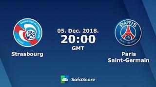 مشاهدة مباراة ستراسبورج وباريس سان جيرمان بث مباشر بتاريخ 05-12-2018 الدوري الفرنسي