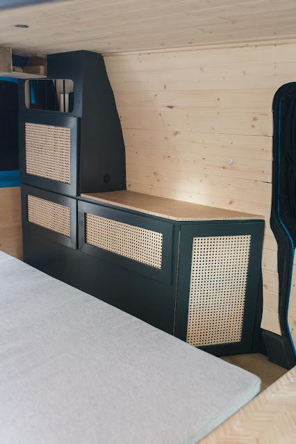 Vw caddy campervan conversion interior