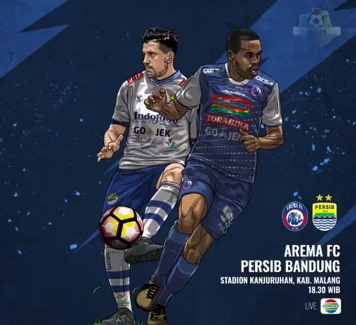 Prediksi Arema FC vs Persib Bandung - Liga 1 Minggu 15 April 2018