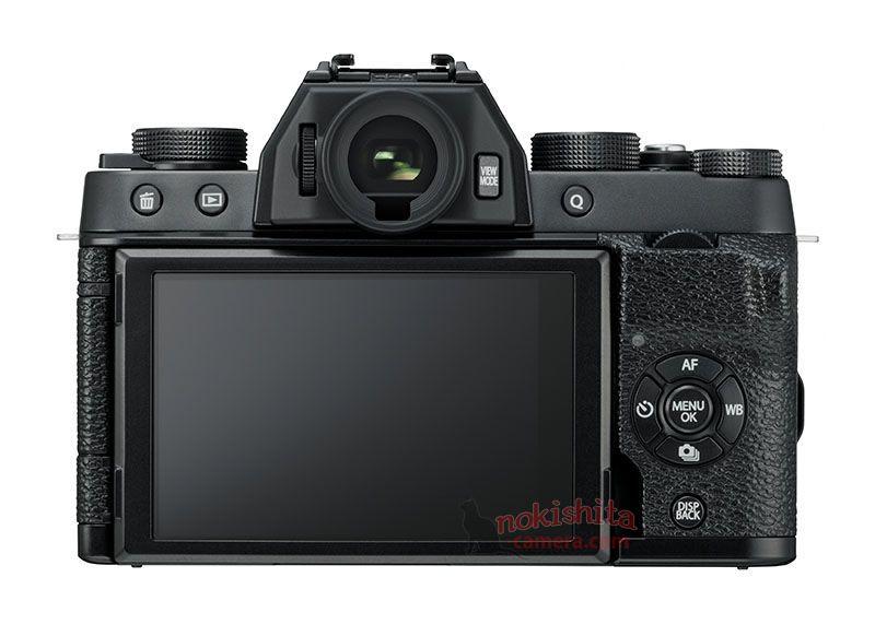Fujifilm X-T100, вид сзади