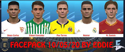 PES 2017 Facepack 10/05/2020 by Eddie