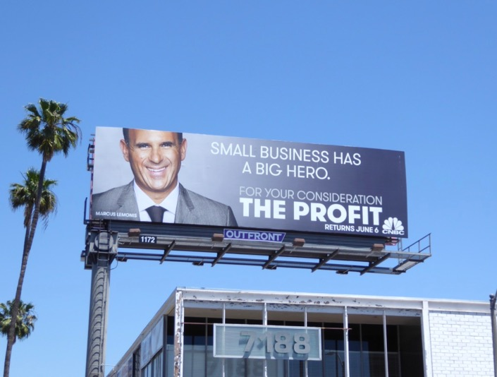 Small business big hero Profit 2017 FYC billboard