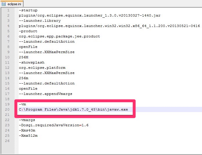 Solved] Java Was Started by Returned Exit Code\u003d13 Error in Eclipse