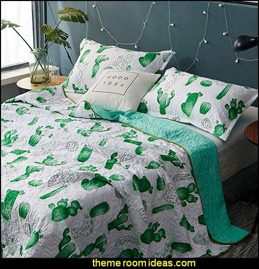 Tropical Cactus Pattern 3-Piece Reversible Luxury Comforter Set  cactus bedding cactus room decor ideas - cactus room theme - cactus wall art - cactus themed bedroom ideas - cactus bedding - cactus wallpaper - cactus wall decals  - cactus themed nursery ideas - cactus rugs - cactus pillows - cactus lighting - cactus furniture  - cactus gifts