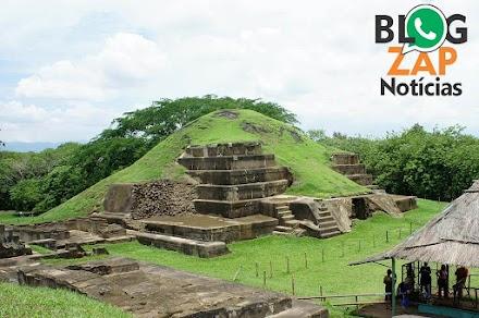 Os Maias construíram uma pirâmide após uma terrível erupção vulcânica
