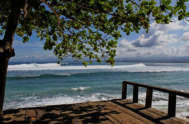 Keindahan Pantai Tanjung Setia