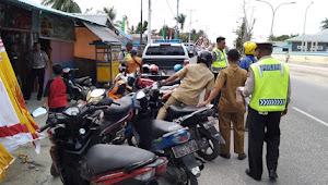 247 Lebih  Kendaraan Terjaring Ops Patuh Siwalima 2019 Polres Aru