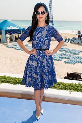Los Pitufos 2 Cancún Katy Perry
