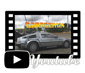 Vídeo Miniatura Delorean de controle remoto Back to the Future - De Volta para o Futuro