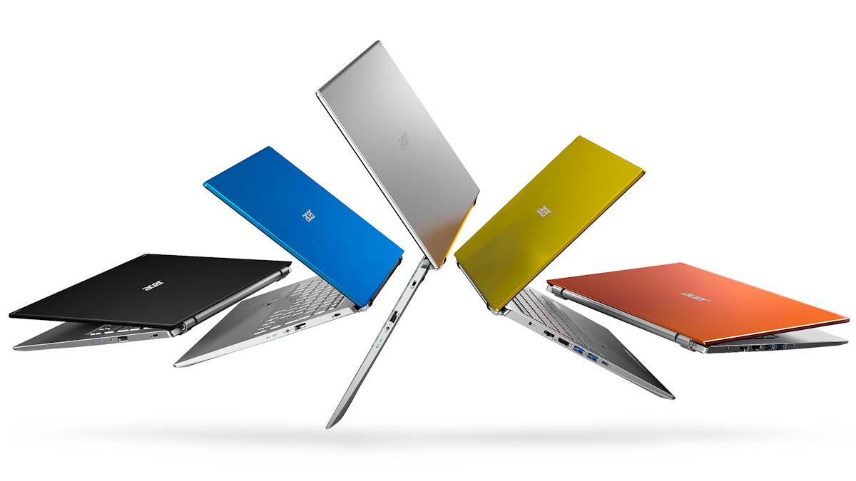 Séries Swift, Spin e Aspire: Acer anuncia sua mais recente linha de notebooks de consumo