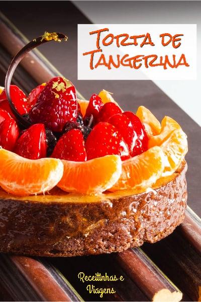 Torta de tangerina, quase uma cheesecake