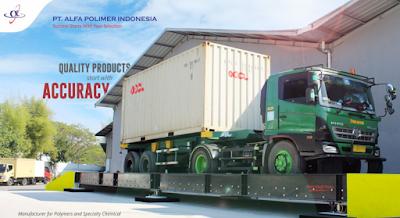 Lowongan Kerja Operator Produksi, Hilper Logistik, Dan Laboratoris PT. Alpa Polimer Indonesia Jawa Barat