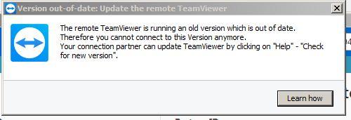 Masalah TeamViewer Tidak Bisa Connect ke Komputer Partner