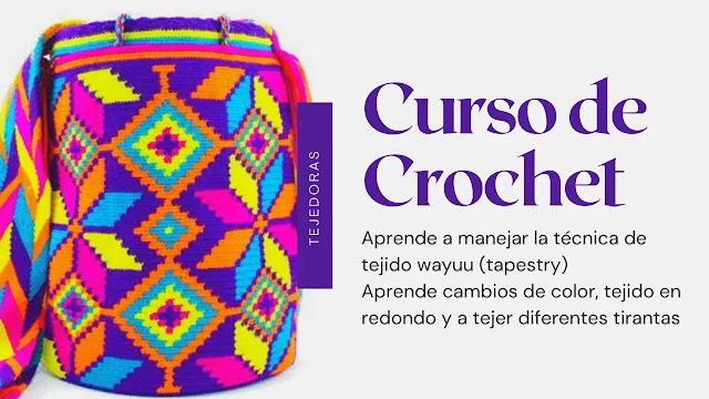 Curso mochila wayuu a crochet