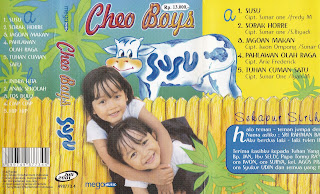 cheo boys album susu www.sampulkasetanak.blogspot.co.id