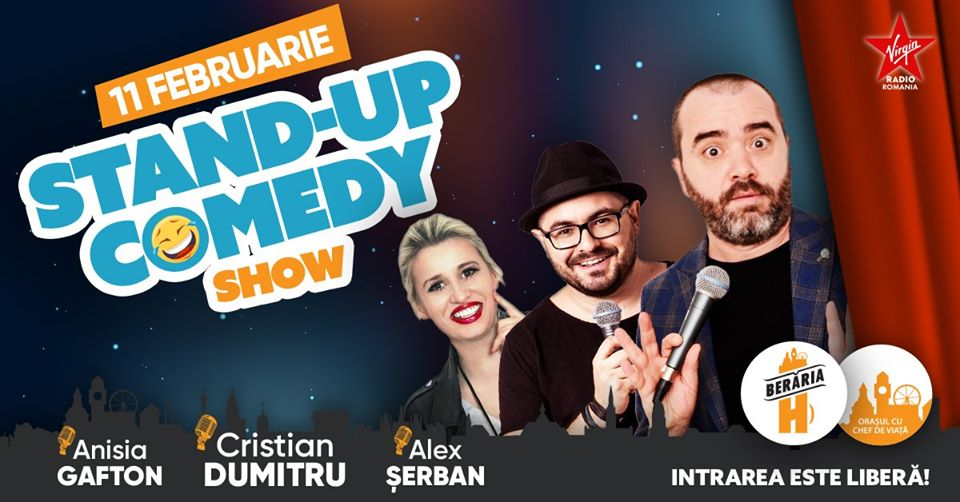Stand-Up Comedy bucuresti 2020